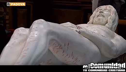"""Profesor crea una imagen 3D """"precisa"""" de Jesús usando la Sábana Santa de Turín"""