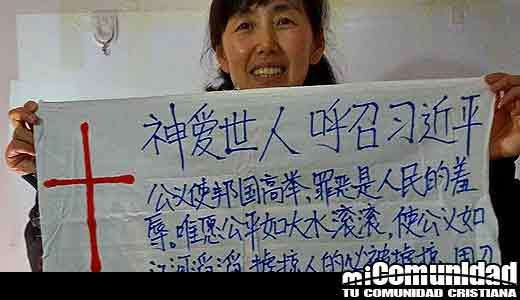 Mujer cristiana detenida después de intentar compartir la fe con el presidente chino