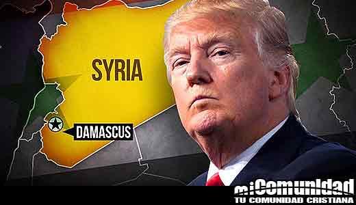 Trump afirma tener éxito en Siria, pero armas químicas permanecen