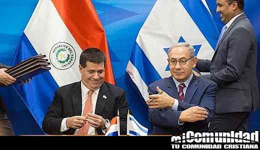 Presidente saliente de Paraguay, Horacio Cartes, quiere reubicar la embajada en Jerusalén
