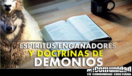¿Qué son las doctrinas de los demonios en 1 Timoteo 4:1?