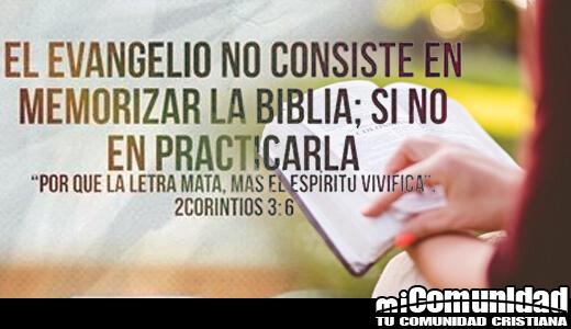 ¿Qué significa que la letra mata, mas el espíritu vivifica (2 Corintios 3:6)?