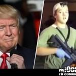Trump se dirige al tiroteo del adolescente Rittenhouse, dice que el video muestra a un joven de 17 años defendiéndose de los manifestantes de Kenosha