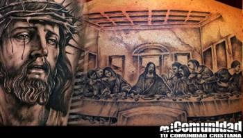 ¿Está bien tatuarse si son de naturaleza cristiana?