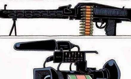 Guerra de Medios. Y como es la prensa en tu país? Pues…