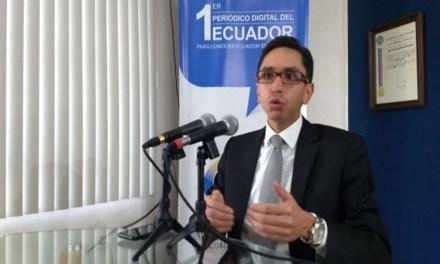 Ismael Quintana: Juicio político de Fabricio Villamar contra P. Tuárez responde a su «ignorancia del derecho y actuar con mala fe»