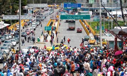 A fin de año la población venezolana en Ecuador llegaría a medio millón