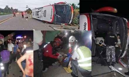 """Siniestro de tránsito en el sector """"la Marujita"""""""