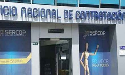 SERCOP detectó irregularidades por USD 132 millones en compras públicas en 2019.