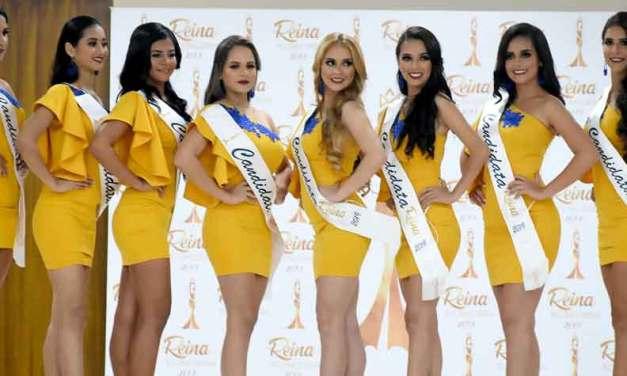 Candidatas a Reina de La Concordia 2019-2020