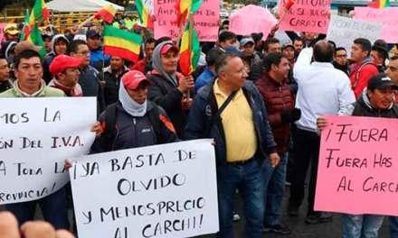 5 días de Paro: Se prolongan indefinidamente las movilizaciones en la provincia del Carchi.