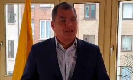 """Expresidente Correa: """"Nunca hubo necesidad de un paquetazo, todo es corrupción e ineptitud"""""""