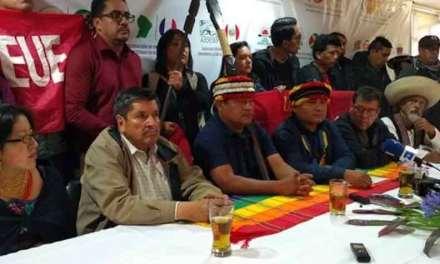 Más de 20 mil indígenas llegarán a Quito