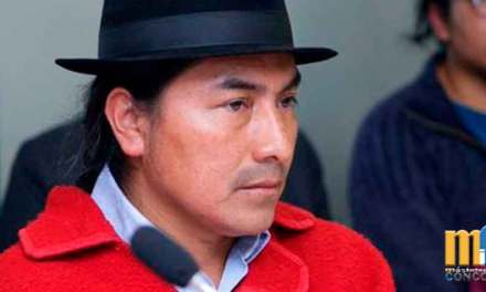 """""""Si sigue pretendiendo dividir a comunidades, podría enfrentar justicia indígena» Advierte Iza a Vicepresidente."""