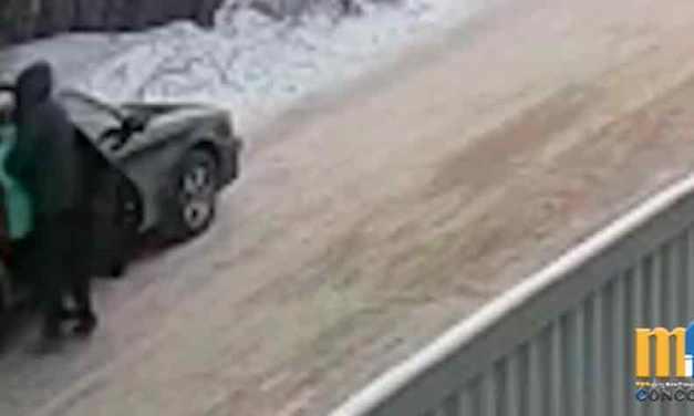 VIDEO: Un pedófilo secuestra a una niña, y un adolescente la salva del auto en marcha