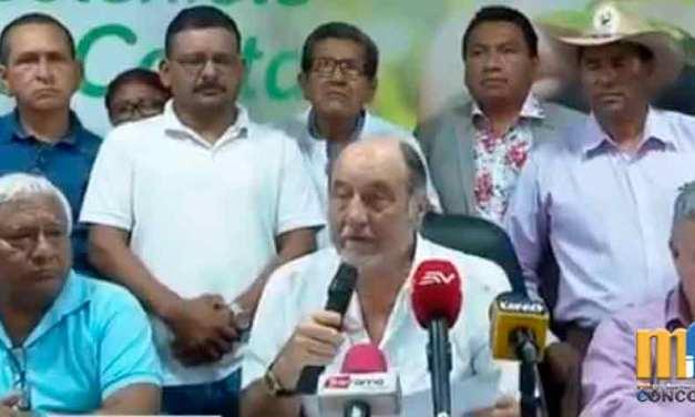 Agricultores de la Costa declaran persona no grata a Ministro de Finanzas