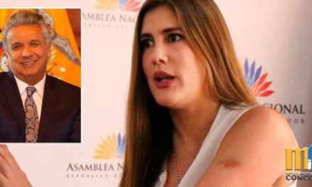 """""""Estamos en debate y Presidente Moreno ya tuitea que se aprobó la ley"""", reclama Cristiana Reyes"""