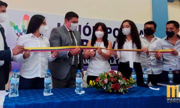 Inauguran sede de UNES en La Concordia.
