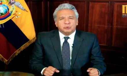 El dinero del FMI ya tiene destinatarios, afirma Lenin Moreno.