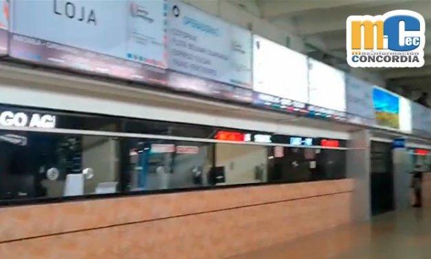 Paro transportistas: Buses intercantonales e interprovinciales suspendieron actividades en todo el país