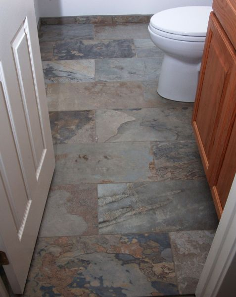 Floor tile debate  stone vs  porcelain   Pro Construction Guide Floor tile debate  stone vs  porcelain