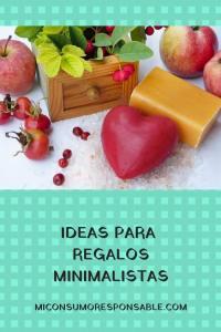 Ideas para regalos minimalistas