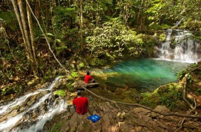 waterfall-expedition en Belize