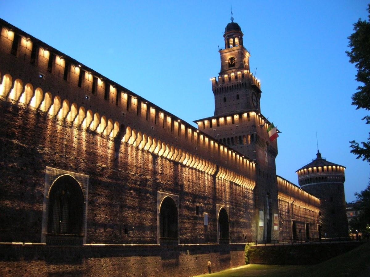 Milan: Castillo Sforzesco