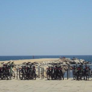 Platja Bogatell Bicicletas