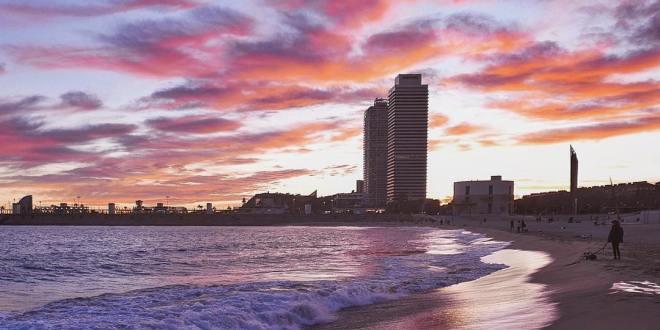 Barcelona: Playa Bogatell