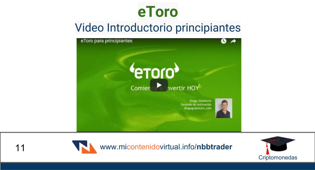 CriptoMonedas # 11 - eToro Presentación general de la plataforma