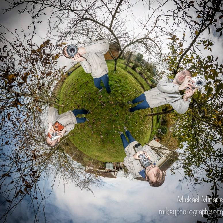 Quatre génération de photographe