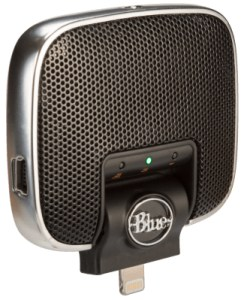 A solid condenser microphone from Blue