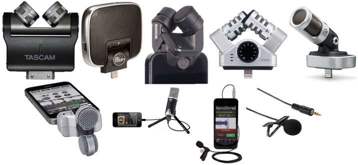 We review the best microphones for smart devices with iOS