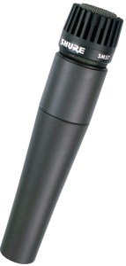 Dynamic microphone example