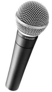 A legendary pick as the best microphone for live stage performances