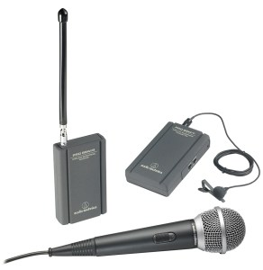 An excellent wireless mic by Audio-Technica
