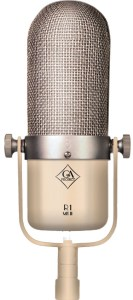 Ribbon microphones are more rare, but an excellent mic type for many