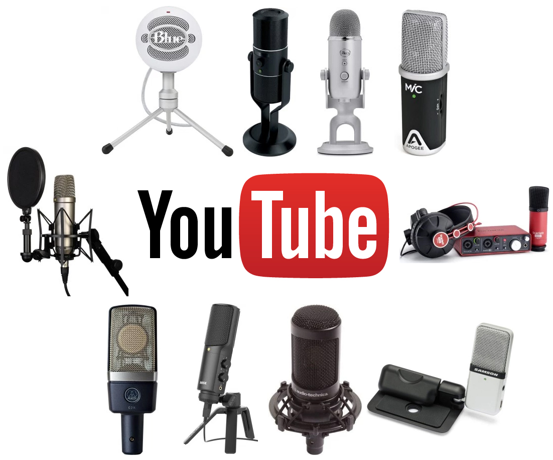 The Top 10 Best Microphones For Youtube Videos Mic Reviews Microphone Amplifier With Noise Suppression