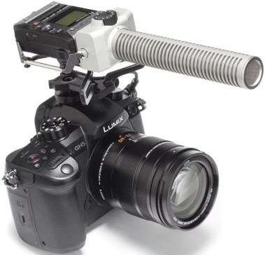 An F1-SP attached to a DSLR