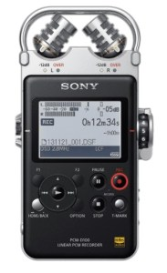 Sony's best portable audio recorder