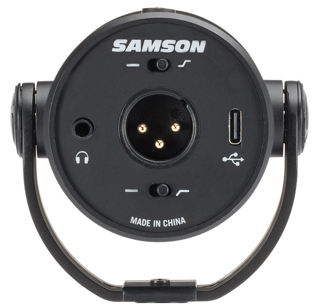 The below view of what you have on the Samson Q9U