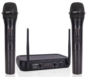 Pyle's highly rated wireless mics under $100