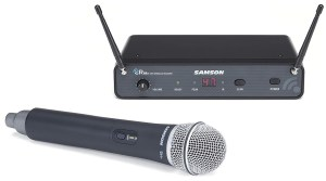 A high-quality wireless handheld mic by Samson