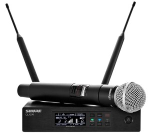 Simply the best handheld wireless microphone