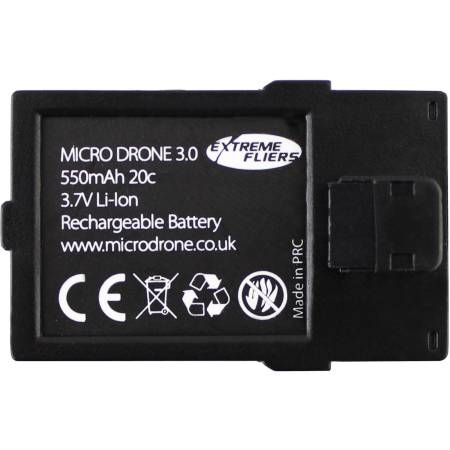 microdrone 3.0+ battery extreme fliers