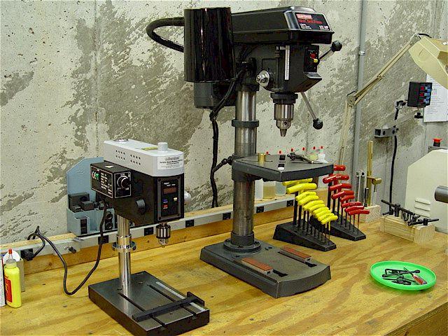 Drill Press Mortising Tool