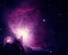 The Orion Nebula, one of the sights available to blind amateur astronomer Tim Doucette.
