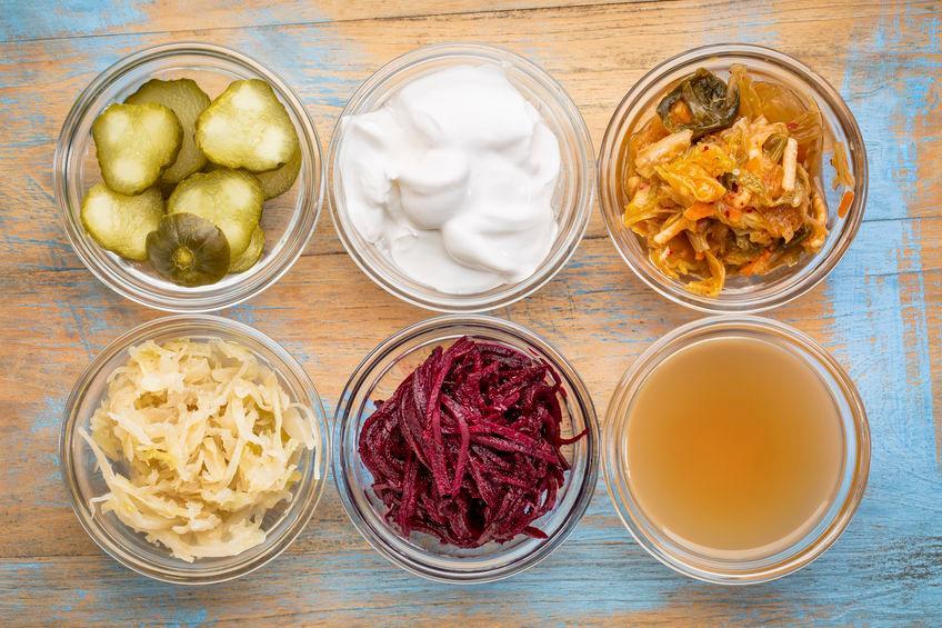 Alimenti fermentati prodotti dall'uomo.
