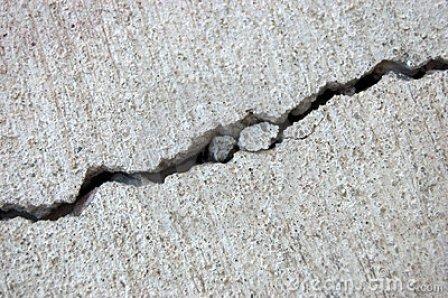 cemento danneggiato